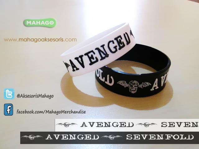 wristband avenged sevenfold mahago 2